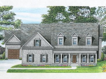Two-Story House Plan, 019H-0155