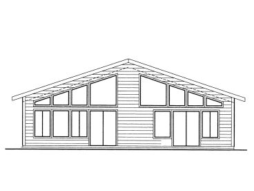 Vacation Home Plan, 012H-0204