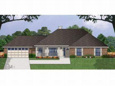 Affordable House Design, 015H-0055