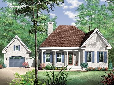 Small European House, 027H-0179