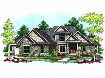 2-Story House Plan, 020H-0171
