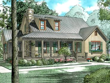 Country House Plan, 025H-0084