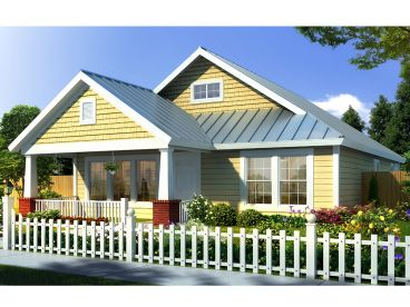 Bungalow House Plan, 059H-0105