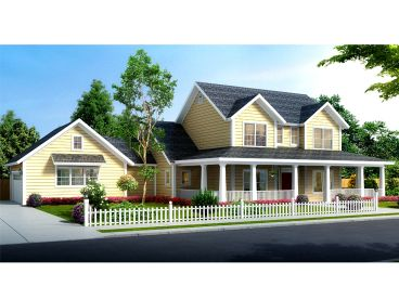 Country House Plan, 059H-0220