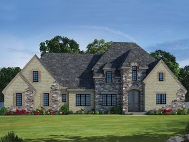 European House Plan, 031H-0277