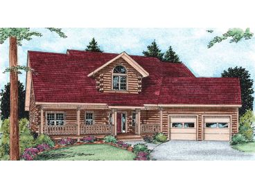 Log House Design, 031L-0019