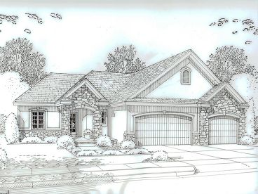 One-Story House Plan, 050H-0089