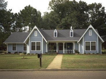 Country Ranch Home, 021H-0209