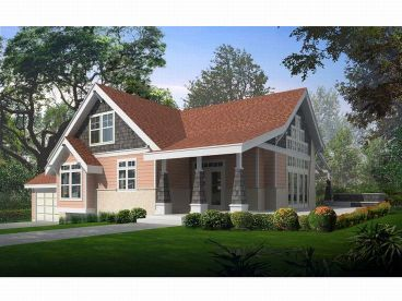 Craftsman Home, 026H-0075