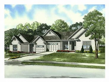 Multi-Family Home Plan, 025M-0061
