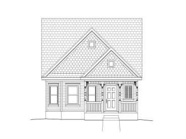 Narrow Lot House Plan, 062H-0018