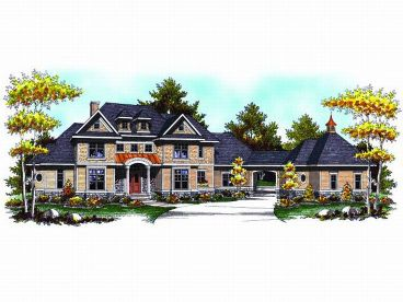 Luxury Estate Home, 020H-0145