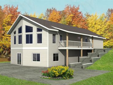 Garage Apartment Plan, 012G-0103