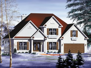 Family Home Design, 072H-0113
