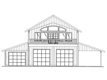 Plan 012g 0056 find unique house plans home plans and for Due bay garage