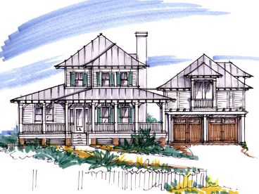 Country House Plan, 041H-0109