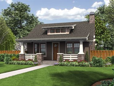 Bungalow House Plan 034h 0228
