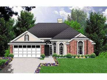 1-Story House Plan, 015H-0075