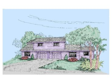 Multi-Family Home Design, 013M-0012