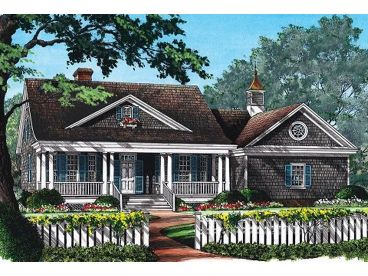 One-Story House Plan, 063H-0206