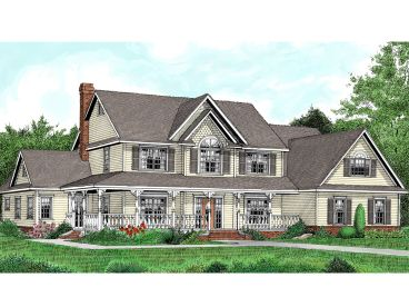 Luxury Victorian Home, 044H-0052