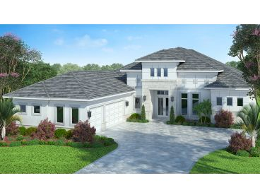 Luxury House Plan, 069H-0025