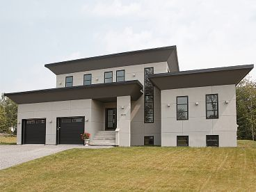 Contemporary House Plans & Modern Home Plans – The House Plan Shop ...