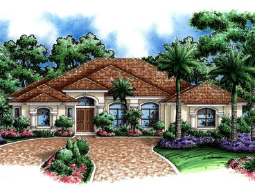 Sunbelt Home Plan, 037H-0138