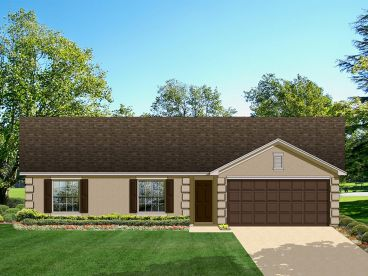 Small House Plan, 064H-0020