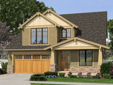 Craftsman House Plan, 034H-0244
