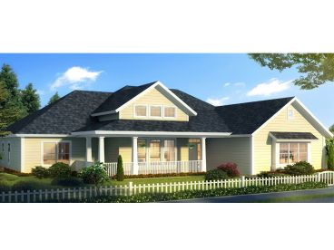 Ranch House Plan, 059H-0204