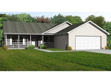 Country Home Plan, 048H-0063