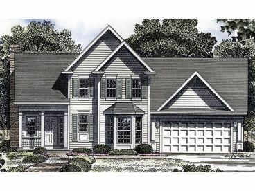 2-Story House Plan, 014H-0039