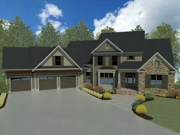 Luxury House Plan, 019H-0152