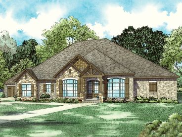 Luxury European House Plan, 025H-0342