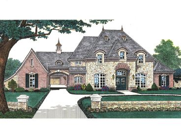 Luxury Home Plan, 002H-0095
