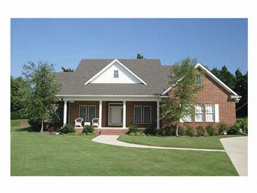 Country House Plan Photo, 025H-0111