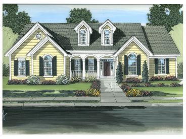 Ranch House Plan, 046H-0049