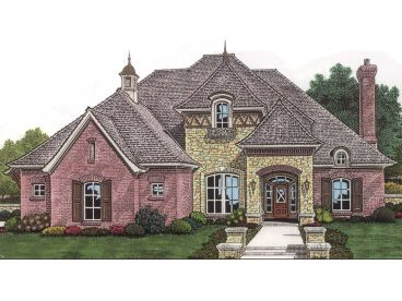 European House Plan, 002H-0046