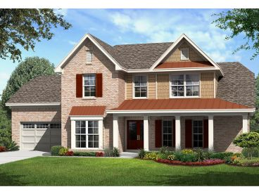 Two-Story Home Plan, 061H-0178
