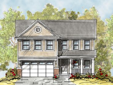 Two-Story Home Design, 031H-0216