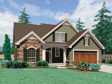 Euroepan House Plan, 034H-0221