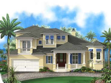 Two-Story House Plan, 037H-0190