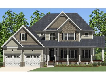 Country Home Design, 067H-0014