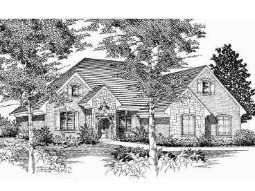Empty-Nester House Plan, 061H-0065