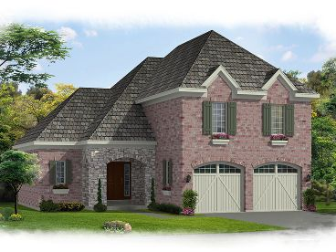 Euroepan House Plan, 046H-0093