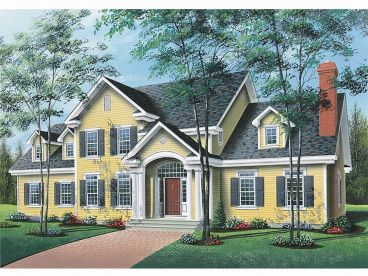Cape Cod Home Design, 027H-0019