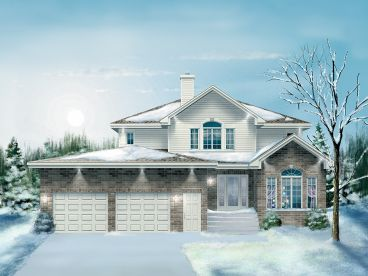 Traditional House Plan, 072H-0005