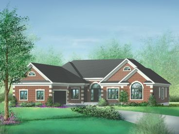 Traditional House Plan, 072H-0046