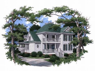 Charleston House Plan, 017H-0016